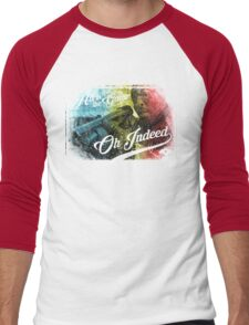 Omar Little - Oh Indeed (Rainbow) - Cloud Nine Edition Men's Baseball ¾ T-Shirt