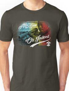 Omar Little - Oh Indeed (Rainbow) - Cloud Nine Edition Unisex T-Shirt