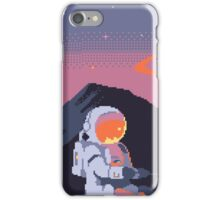 Stranded Astronaut  iPhone Case/Skin