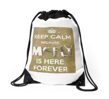 Keep Calm...McFly's here Forever Drawstring Bag