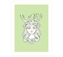 Trophy Wives Two Art Print