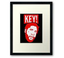 KEY! Head Logo Framed Print