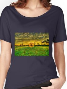 Dandelion in the Sunset Women's Relaxed Fit T-Shirt