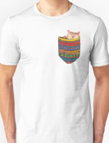 Cat in the pocket Unisex T-Shirt