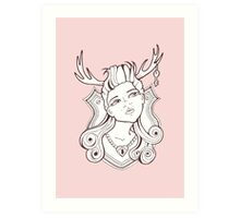 Trophy Wives One Art Print