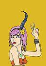 Festival Girl by doodlesbydanni