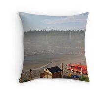Zodiac Whale Excursion Throw Pillow