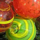 handblown glass balls by pallyduck