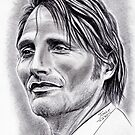Mads Mikkelsen faraway by jos2507