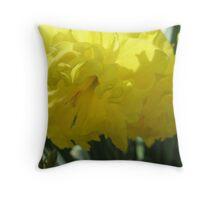 Chantilly Lace Tulip Throw Pillow