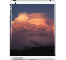 Dramatic sunset over Luxembourg (Pileus cloud) iPad Case/Skin