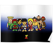 Steet Fighter II - Bape Collaboration Collection (Poster 1) Poster