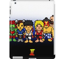 Steet Fighter II - Bape Collaboration Collection (Poster 1) iPad Case/Skin
