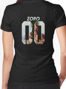 Roronoa Zoro 00 Women's Fitted V-Neck T-Shirt