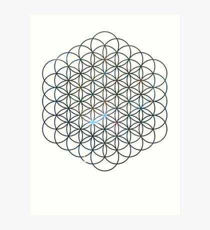 Carina's Mystic Mist Flower of Life | Sacred Geometry Art Print