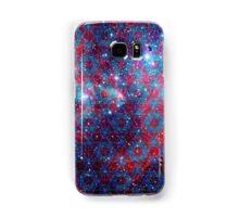 Spiderman Nebula Version 4   Sacred Geometry Patterns Samsung Galaxy Case/Skin