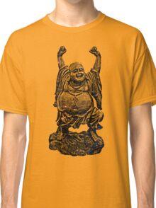 Happy Buddha   Starry Night Classic T-Shirt