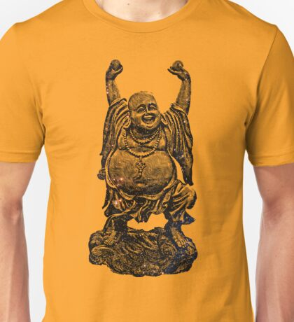 Happy Buddha   Starry Night Unisex T-Shirt