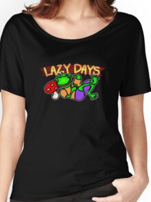 Lazy Days. Women's Relaxed Fit T-Shirt