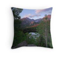 Above Bear Lake- Rocky Mountain National Park, Colorado Throw Pillow