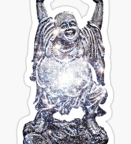 Happy Buddha   Star Cluster Sticker