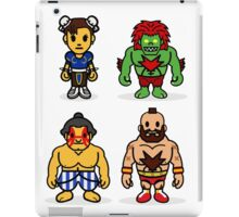 Steet Fighter II - Bape Collaboration Collection (Poster 2) iPad Case/Skin