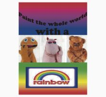 Paint the whole world with a rainbow! by LittleMermaid87