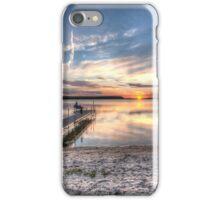 Sunset on Sturgeon Bay iPhone Case/Skin