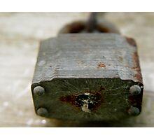 Lock Photographic Print