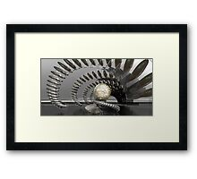 Complexity of random passage Framed Print