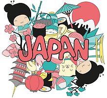 Cute Japan! by KingdomofArt