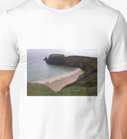Silver Strand Beach  Nr. Teelin Co. Donegal Ireland Unisex T-Shirt