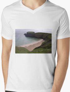 Silver Strand Beach  Nr. Teelin Co. Donegal Ireland Mens V-Neck T-Shirt