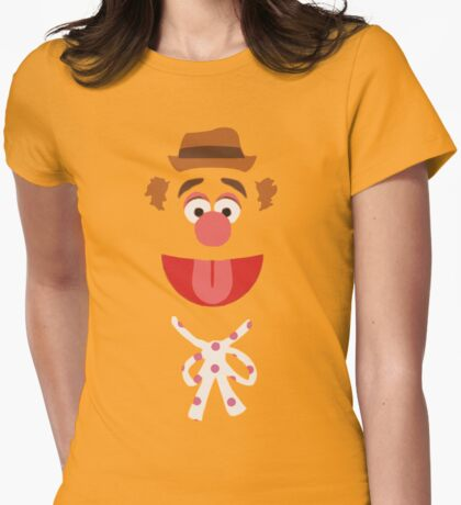 Fozzie Bear Womens Fitted T-Shirt