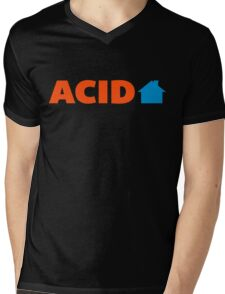 Acid House Music Quote Mens V-Neck T-Shirt