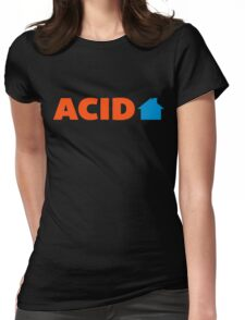 Acid House Music Quote Womens Fitted T-Shirt