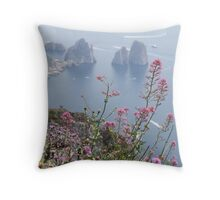 Belle Isole Throw Pillow
