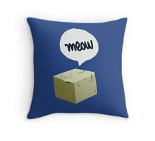 Warren's Shirt - Schrodinger's Cat Throw Pillow