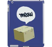 Warren's Shirt - Schrodinger's Cat iPad Case/Skin