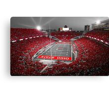 """""""A Scarlet Stage"""" Ohio State Buckeyes Prints, Cards, More Canvas Print"""