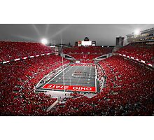 """""""A Scarlet Stage"""" Ohio State Buckeyes Prints, Cards, More Photographic Print"""
