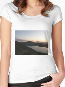 Muckish Mountain  -  Co. Donegal Ireland  Women's Fitted Scoop T-Shirt