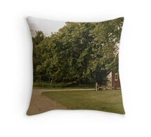 Firewood & Fencing Throw Pillow