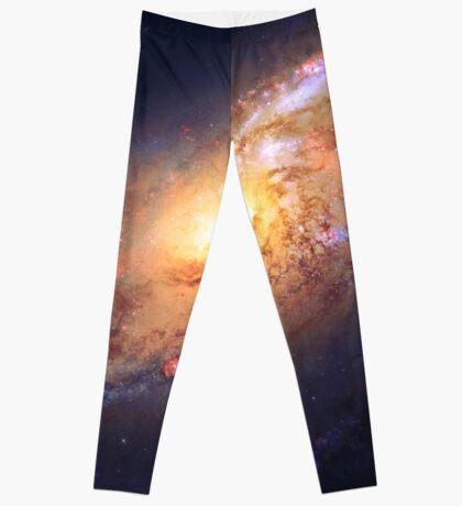 Galaxy of Fire   Infinity Symbol   Fresh Universe Leggings