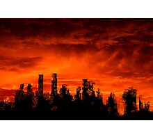The end of days Photographic Print