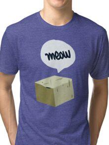 Warren's Shirt - Schrodinger's Cat Tri-blend T-Shirt