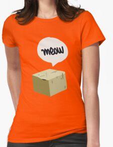 Warren's Shirt - Schrodinger's Cat Womens Fitted T-Shirt