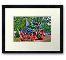 110 hp Case Steam Tractor Framed Print