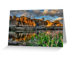 Willow Cove Reflect 1 Greeting Card
