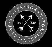 One Direction - Since 2010 - Emblem by hrowlettdesigns